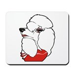 Female Poodle Mousepad