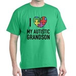 I Love My Autistic Grandson T-Shirt
