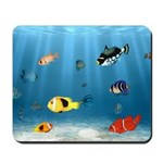 Oceans of Fish Mousepad