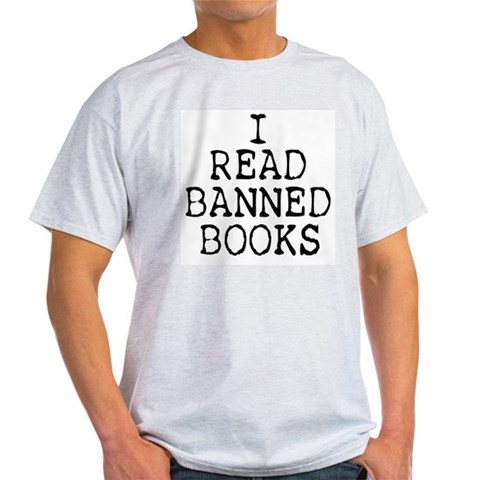 Product Image of Banned Books Light T-Shirt