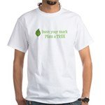 Leave your Mark Tree White T-Shirt