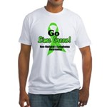 Go Lime Green Fitted T-Shirt