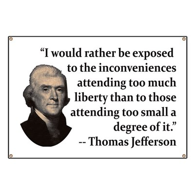 Thomas Jefferson on Liberty