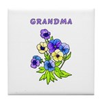 Grandmothers Gift Tile Coaster