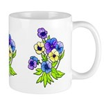 Flower Gift Mugs for Mom's on Mothers Day, Grandma, Co-workers and Friends!