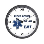Proud EMT Mother Wall Clock