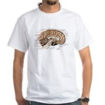 Human Brain White T-Shirt