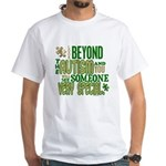 Look Beyond 1.5 (AUTISM) White T-Shirt