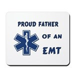 Proud EMT Father Mousepad