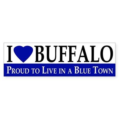 I Love Buffalo (bumper sticker)