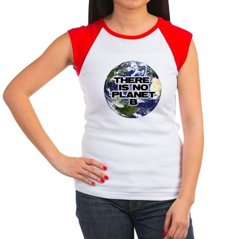 Product Image of No Planet B Women's Cap Sleeve T-Shirt