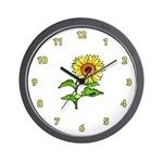 Sunflower Nature Wall Clocks, gifts and apparel are perfect for home or office.