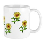 Mugs for sunflower lovers with matching coasters, tote bags, watches and more great gift ideas!