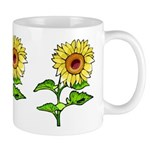 Sunflower Mugs and gifts featuring our full color sunflowers will make you smile!