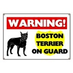 Boston Terrier Banner