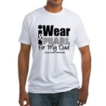 I Wear Pearl For My Dad Fitted T-Shirt