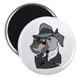 "Male Dog 2.25"" Magnet (10 pack)"