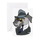 Male Dog Greeting Cards (Pk of 20)