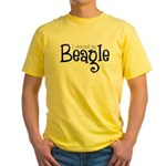 Rescued My Beagle Yellow T-Shirt
