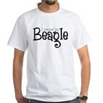 Rescued My Beagle White T-Shirt