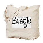 Rescued My Beagle Tote Bag