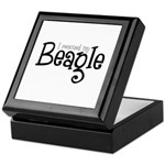 Rescued My Beagle Keepsake Box