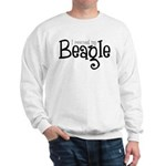 Rescued My Beagle Sweatshirt