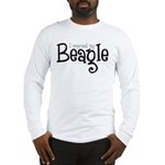 Rescued My Beagle Long Sleeve T-Shirt