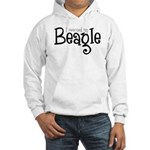 Rescued My Beagle Hooded Sweatshirt