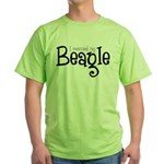 Rescued My Beagle Green T-Shirt