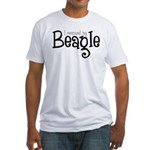Rescued My Beagle Fitted T-Shirt