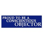 Proud to be a Conscientious Objector