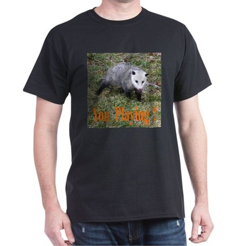 Product Image of Playing Possum Dark T-Shirt