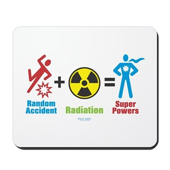Super Powers Mousepad | Gifts For A Geek | Geek T-Shirts