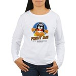 Fight MS Penguin Women's Long Sleeve T-Shirt