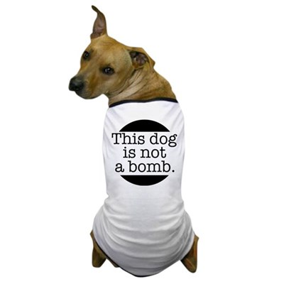 This Dog Is Not A Bomb