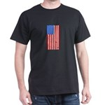 Distressed American Flag 4th of July Indep T-Shirt