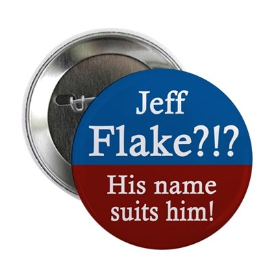 Jeff Flake? The name suits him. (button)