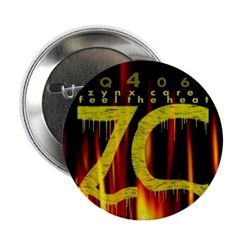 zynxcare: feel the heat button Health 2.25 Button by CafePress