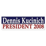 Dennis Kucinich 2008 (bumper sticker)