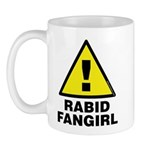 Alert! Rabid Fangirl spotted! Hide your games and computers! Whatever you do, don't ask her what her favorite game, comic, movie or tech toy is!