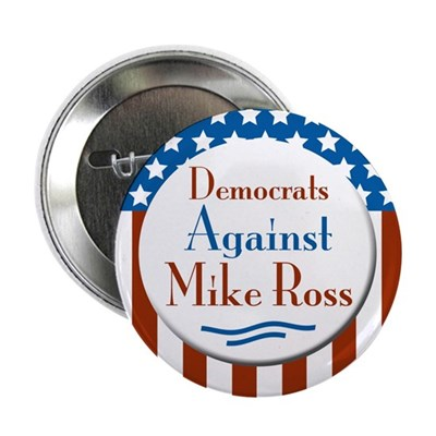 Mike Ross for Congress campaign button