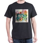 rainbow surfer beach hawaiian T-Shirt