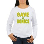 Save the Sonics in Seattle Women's Long Sleeve T-S