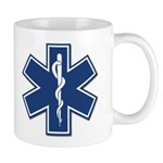Personalized EMT and EMS Logo Mugs