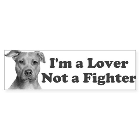 Pitbull Awareness Bumper Sticker
