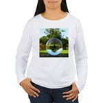Old Park Tree, crystal ball / Long Sleeve T-Shirt