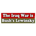 Iraq Bush's Lewinsky Bumper Sticker