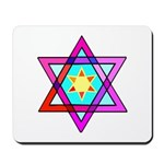Jewish Star Mousepad
