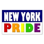 New York Gay Pride Bumper Sticker